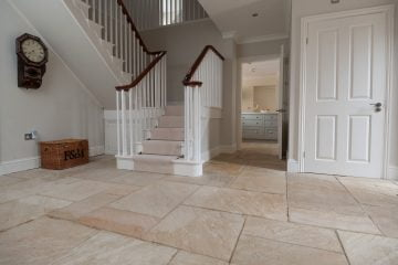 How to Clean Natural Stone Floors - Natural Stone Hallway - KleanSTONE