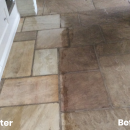 KleanSTONE Stone Floor Transformation Before-After 6 - KleanSTONE Floor Cleaning