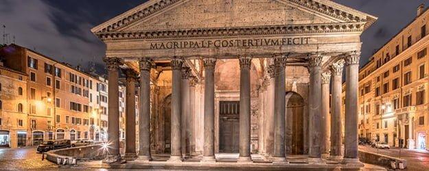 Marble Floor - Rome Pantheon - Romans - Marble Architecture - KleanSTONE
