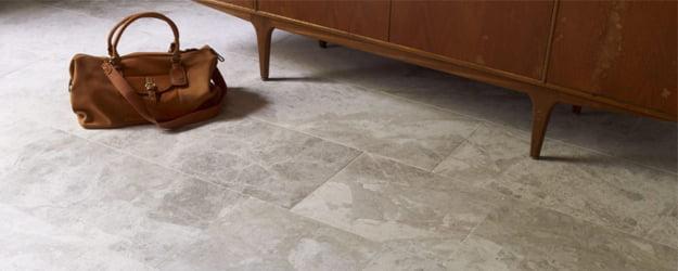 Marble Floor - Tundra Honed Marble - Marble Floor Tiles - KleanSTONE Floor Cleaning