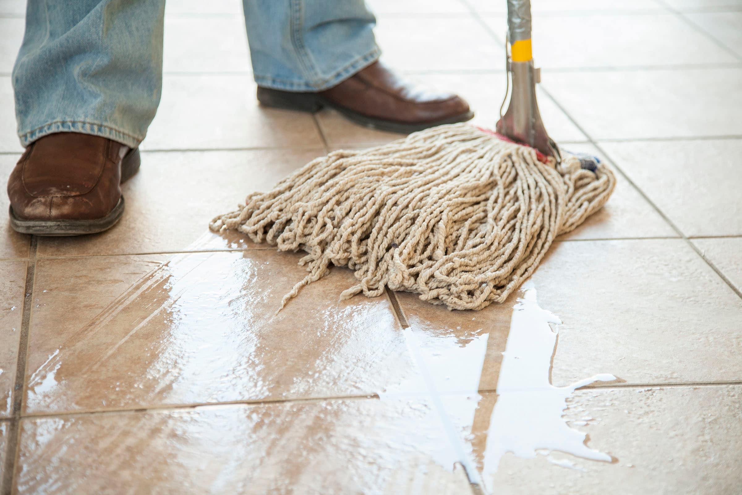 Mop and Bucket - Stone Floor Cleaning - Hard Floor Cleaning - KleanSTONE Floor Cleaning Machine