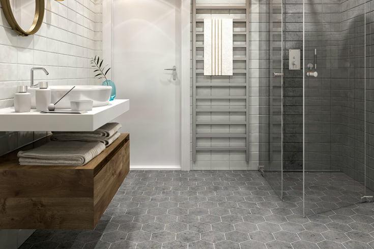 Cleaning Porcelain Floor Tiles - Bathroom Tiles - Porcelain Floor Tiles - KleanSTONE